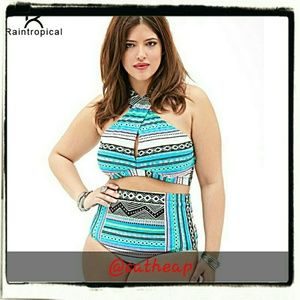 Other - 2018 New...Multi color High waist plus size 2 pc s